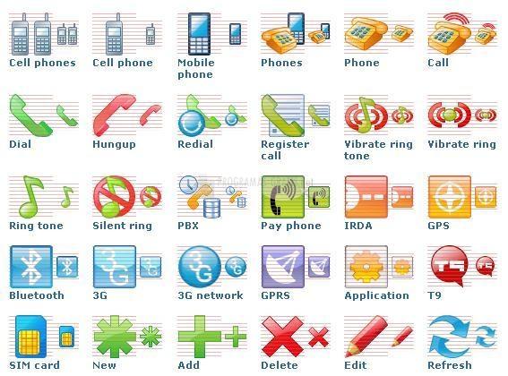 Pantallazo Perfect Mobile Icons