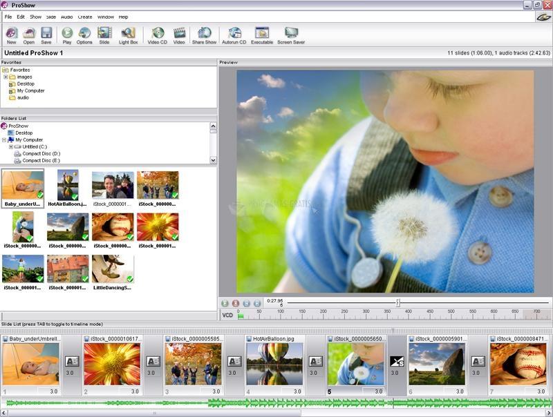 Pantallazo Photodex ProShow Standard