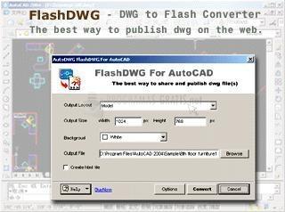 Pantallazo FlashDWG