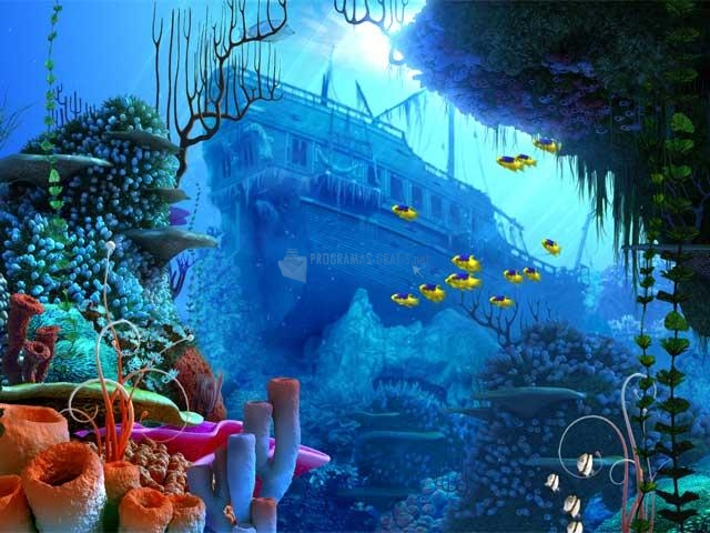 Pantallazo Coral Reef 3D Screensaver