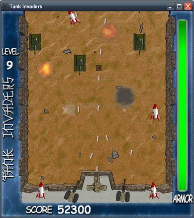 Pantallazo Tank Invaders