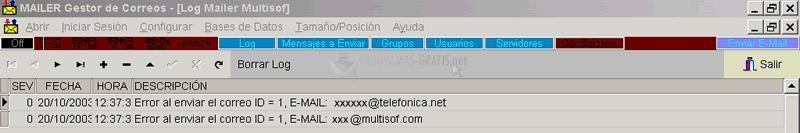 Pantallazo Mailer Multisof