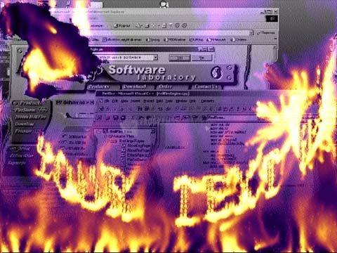 Pantallazo 2003th FireMagic Screensaver