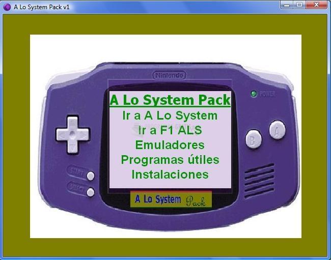 Pantallazo A Lo System Pack