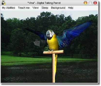 Pantallazo Virtual Talking Parrot