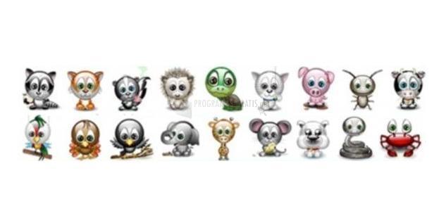 Captura Animais Emoticons