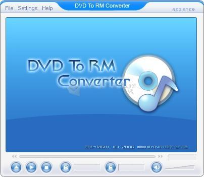 Pantallazo Crystal DVD To RM Ripper