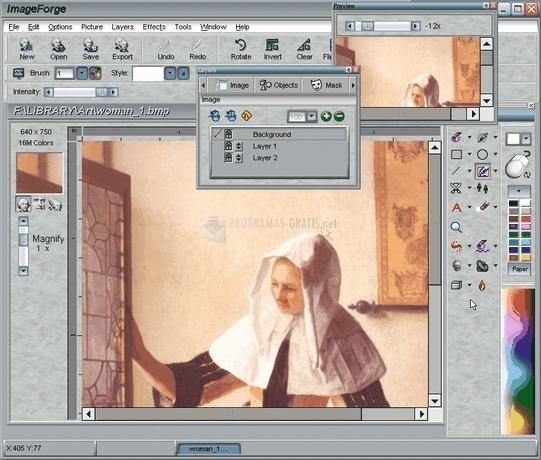 Pantallazo ImageForge GOLD