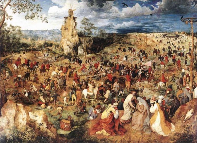 Pantallazo Pieter Bruegel the Elder Screensaver