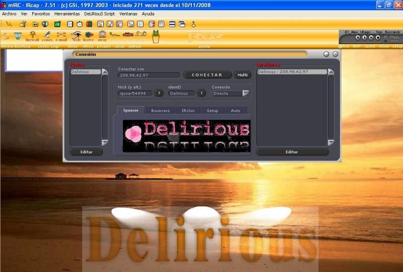 Pantallazo DeLiRiouS Script