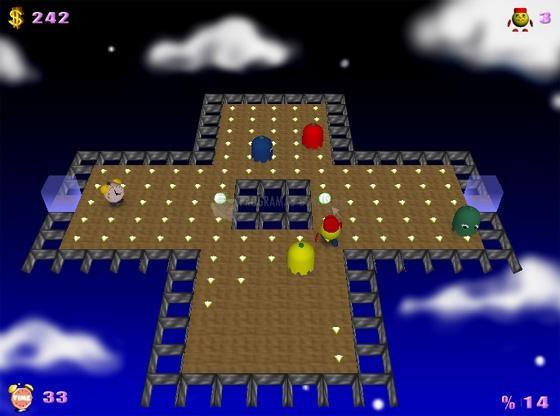 Pantallazo Pacman Adventures 3D