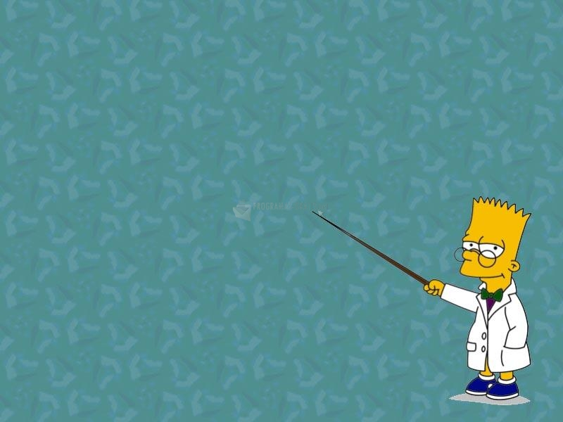 Pantallazo Bart Profesor