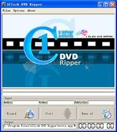 Pantallazo 1Click DVD Ripper