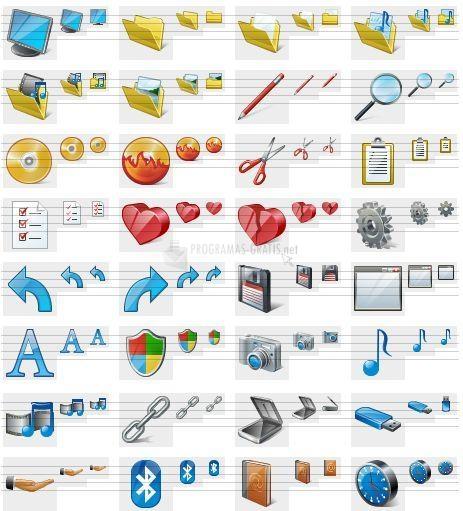 Pantallazo Vista Artistic Icons