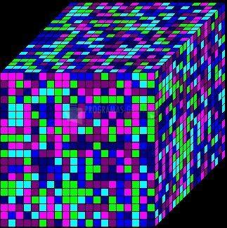 Pantallazo Rubix Cube Rampage