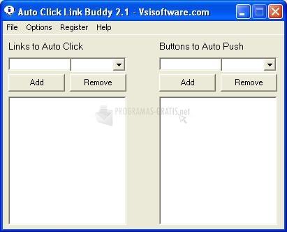 Pantallazo Auto Click Link Buddy