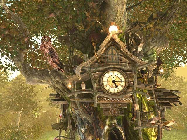 Pantallazo Cuckoo Clock 3D Screensaver