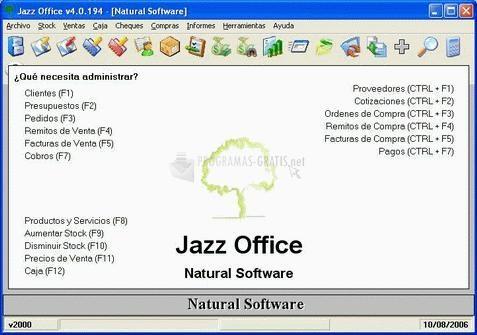 Pantallazo Jazz Office