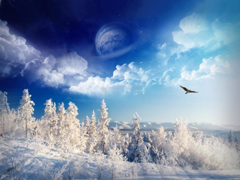 Pantallazo Maravilloso Invierno soñado
