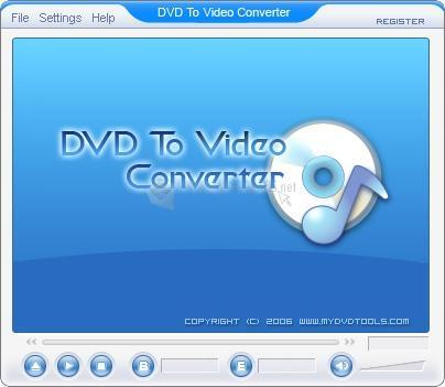 Pantallazo DVD To Video Ripper