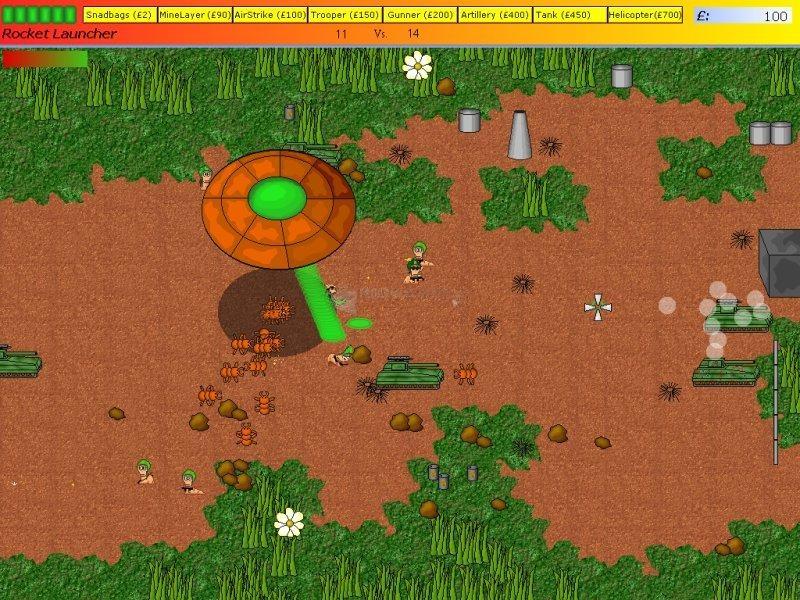 Pantallazo Worm Wars II