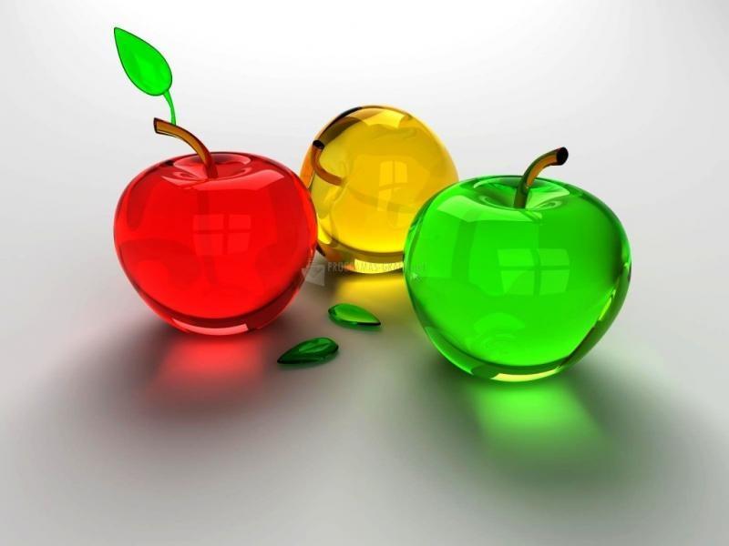 Pantallazo Glass Apples