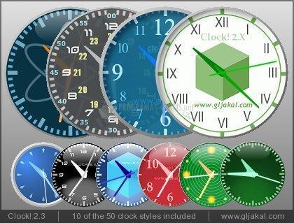 Pantallazo Clock