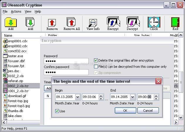 Pantallazo Cryptime
