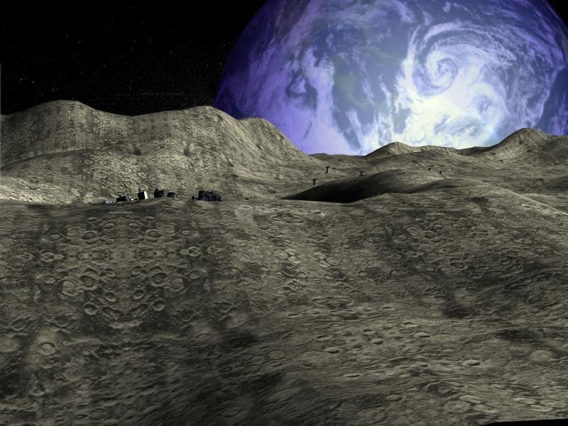 Pantallazo Moon Base 3D