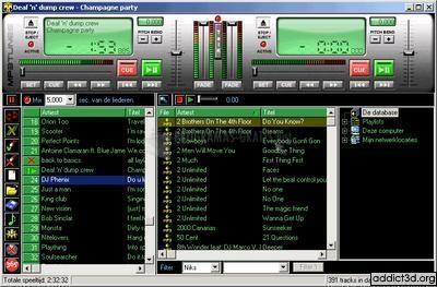 Pantallazo MP3 Tunes