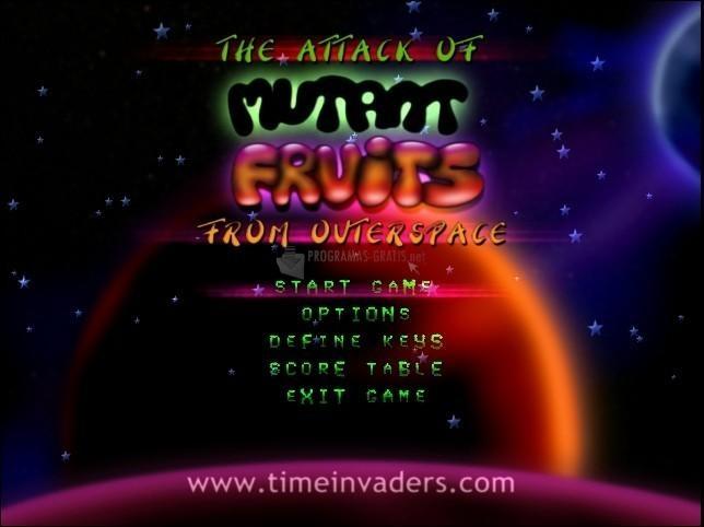 Pantallazo The Attack of Mutant Fruits