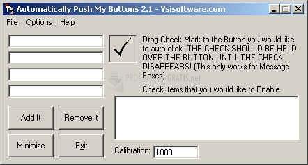 Pantallazo Auto Push My Buttons