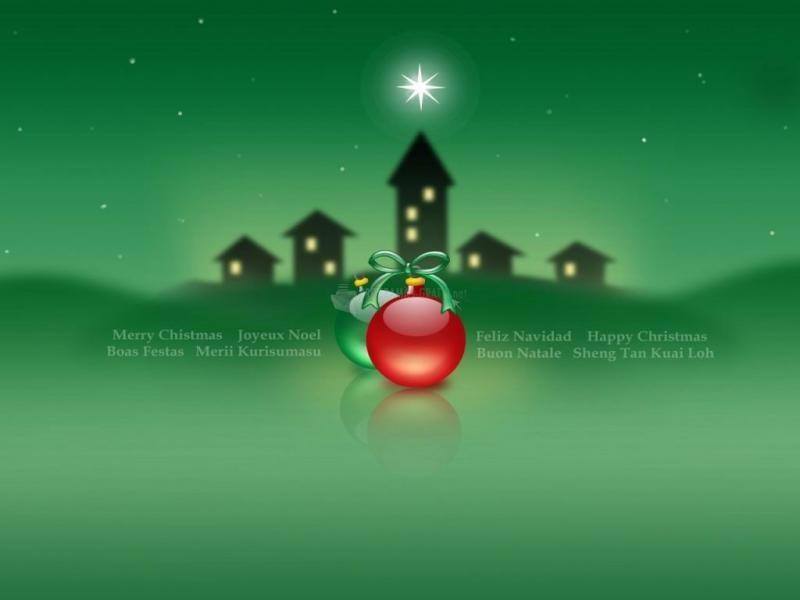 Pantallazo Verde Navidad