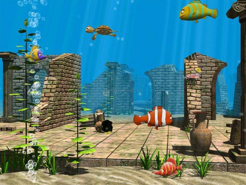Pantallazo Funny fish 3D