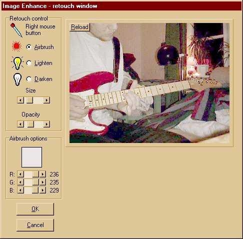 Pantallazo Image Enhance