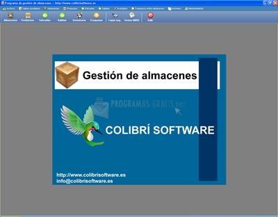 Pantallazo CS-Almacenes