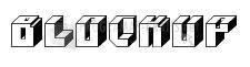 Pantallazo Font BlockUp