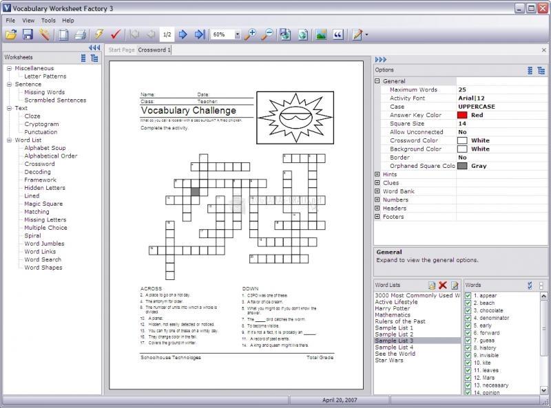 Pantallazo Vocabulary Worksheet Factory