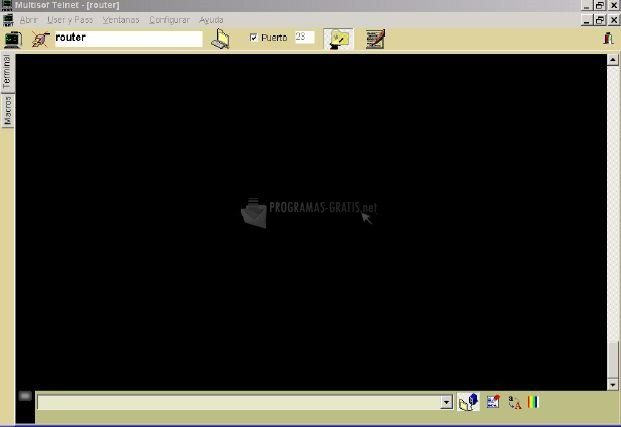 Pantallazo Telnet Multisof