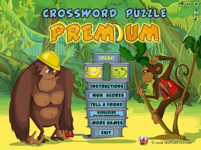 Pantallazo Crossword Puzzle Premium