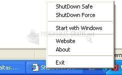 Pantallazo ShutDown Suite
