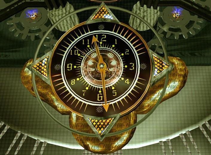 Pantallazo Interstellar Clock Factory ScreenSaver