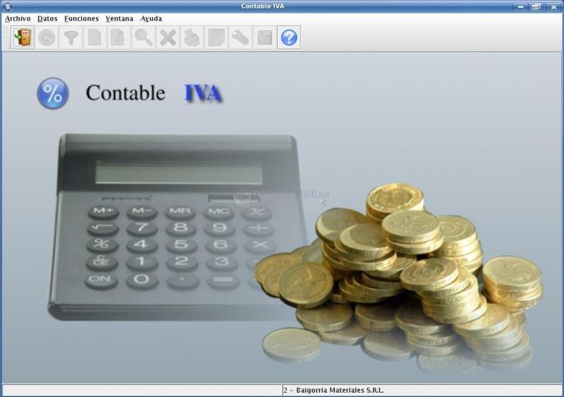 Pantallazo Contable IVA