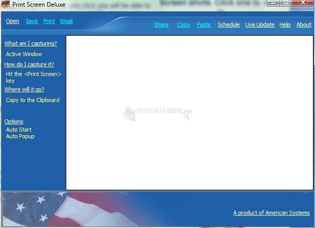Pantallazo Print Screen Deluxe