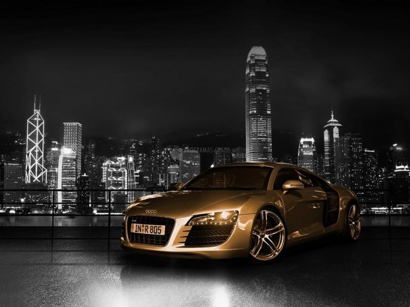 Pantallazo Audi R8 Gold