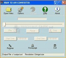 Pantallazo 008Soft WMV To AVI Converter