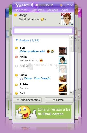 Pantallazo A-Patch for Yahoo Messenger