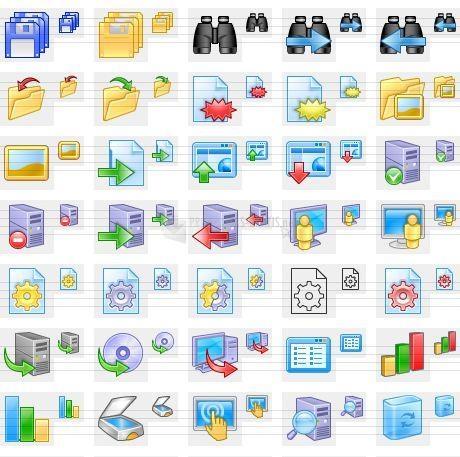 Pantallazo XP Artistic Icons