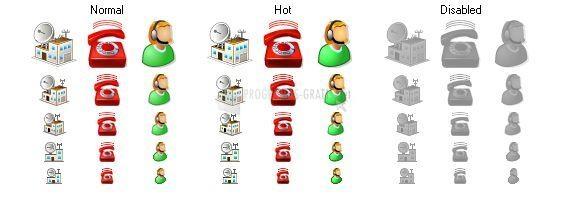 Foto Perfect Telecom Icons