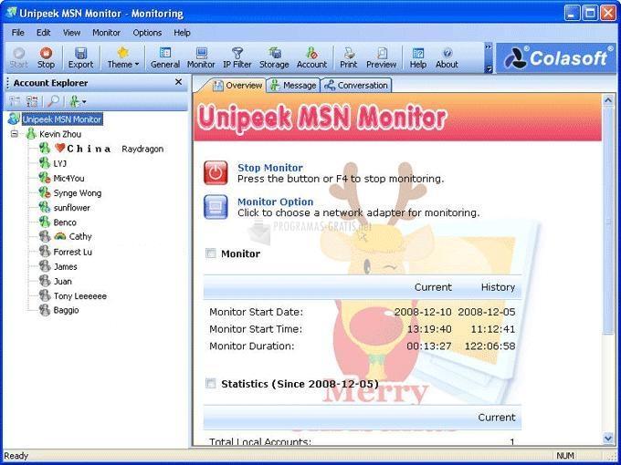 Foto Unipeek MSN Monitor